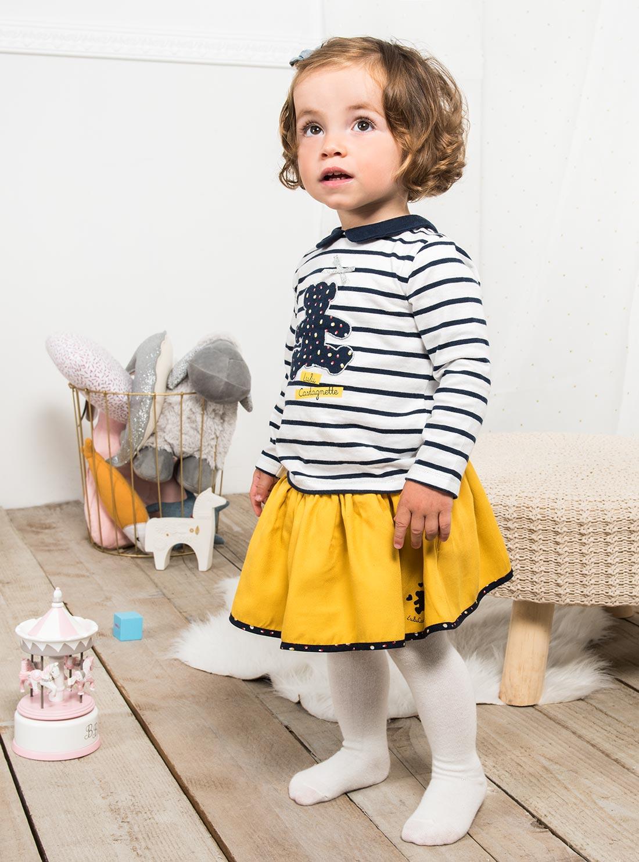 fe2771534c41 ... ce haut 100% coton habillera votre fille avec élégance. Pour éviter un  effet trop strict, associez-le à un petit jean (à taille ajustable, ...